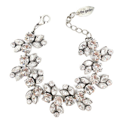 Clear, Crystal Cluster Bracelet, Wholesale