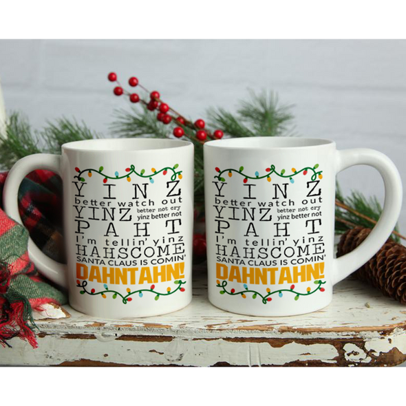 Dahtahn, Holiday Mug