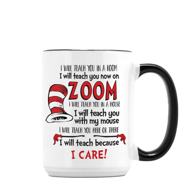 I Care Teacher Mug