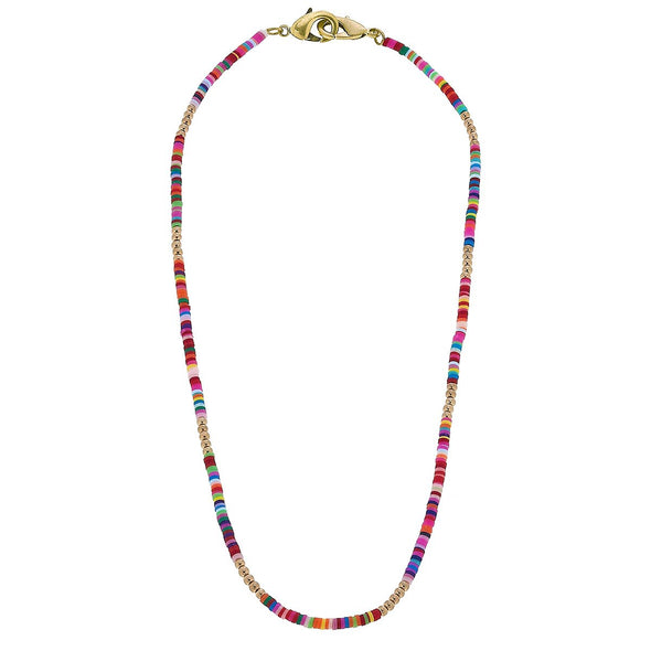 "Multi, 20"" Beaded Mask Chain"