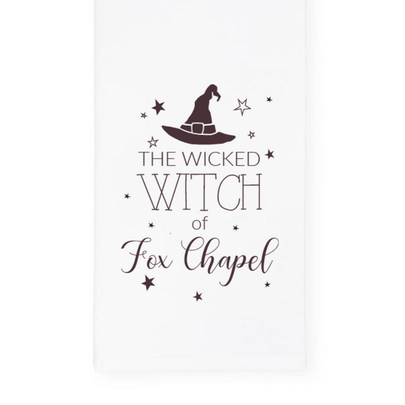 The Wicked Witch of Fox Chapel, Halloween Towel