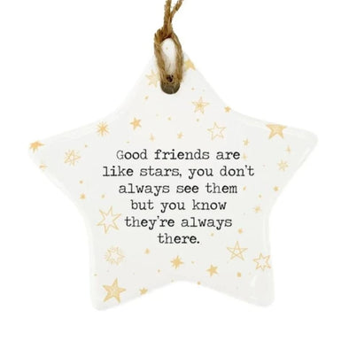 Friends Star Ornament, Wholesale