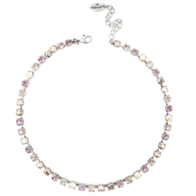 Grace, 6mm Full Crystal Necklace