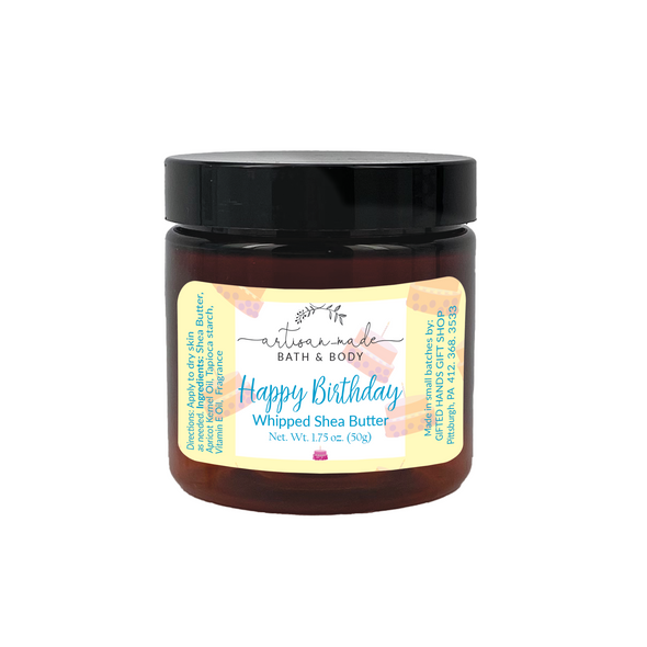 Birthday Cake Whipped Shea Butter