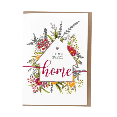 """Home Sweet Home"", New Home Card"