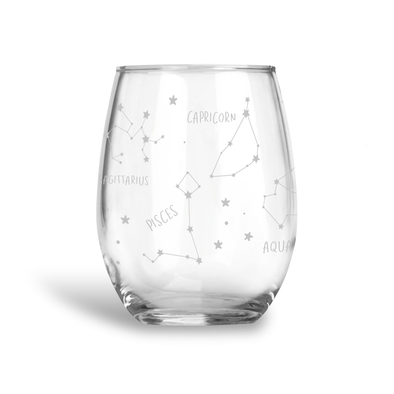 Constellations, Stemless Wine Glass, Wholesale