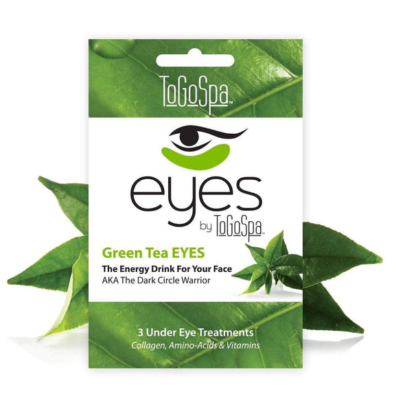 3 Sets of Green Tea, Eye Masks