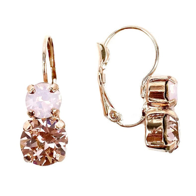 Juliet, 6/8mm Crystal Drop Earrings, Wholesale