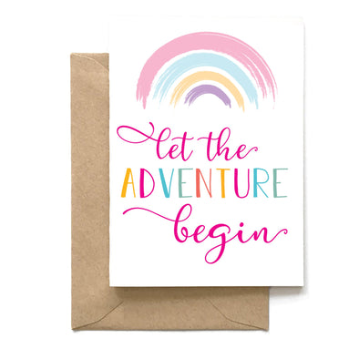 Let The Adventure Begin, Graduation Card, Wholesale