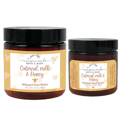 Oatmeal Honey Whipped Shea Butter