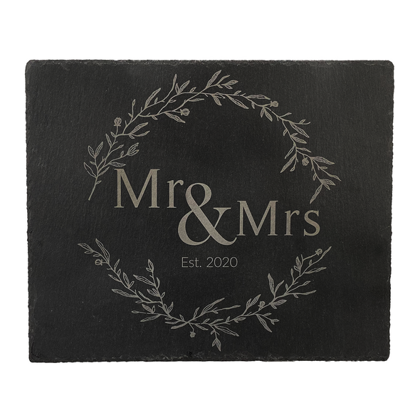 Mr. & Mrs. Slate Cheese Board