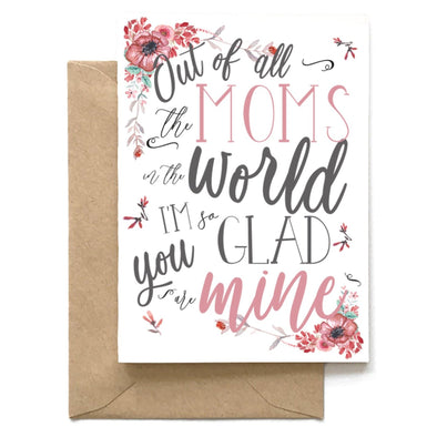 Of All Moms, Mom Card, Wholesale