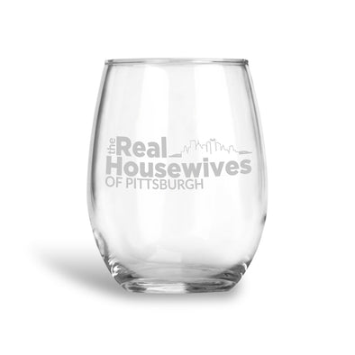 The Real Housewives of Pittsburgh, Stemless Wine Glass, Wholesale