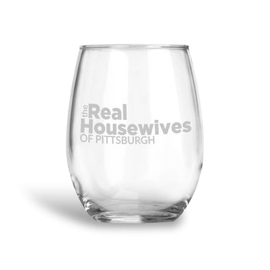 The Real Housewives Custom, Stemless Wine Glass