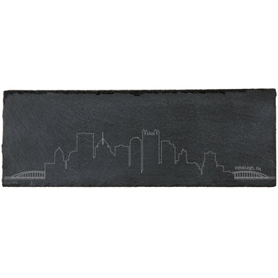 Pittsburgh Skyline Slate Cheese Board