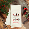 Staying Gnome for the Holidays, Holiday Towel, Wholesale