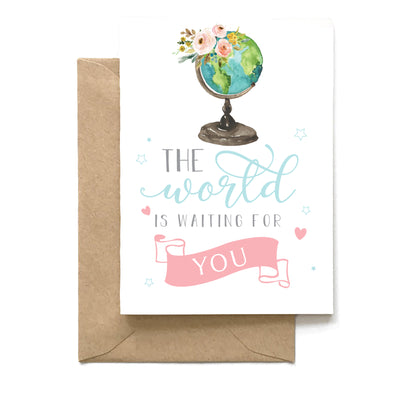 The World Is Waiting For You, Graduation Card