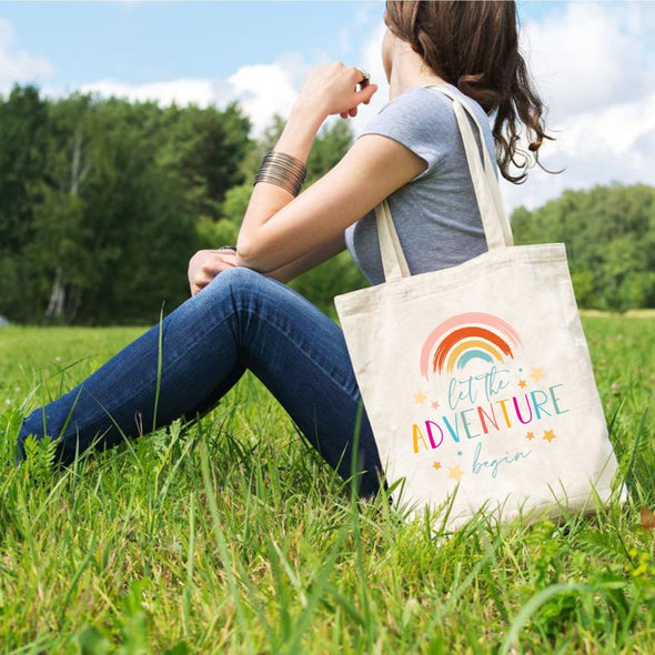 Let The Adventure Begin, Tote Bag