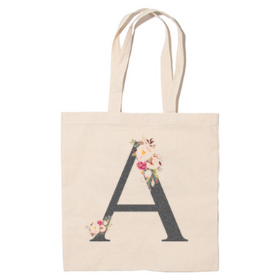 Initial Tote Bag, Wholesale