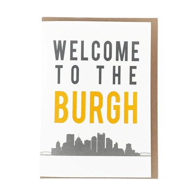 """Welcome to the Burgh"", Wholesale Card"