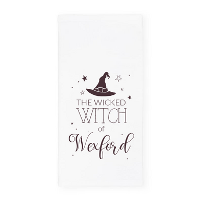 The Wicked Witch of Wexford, Halloween Towel, Wholesale