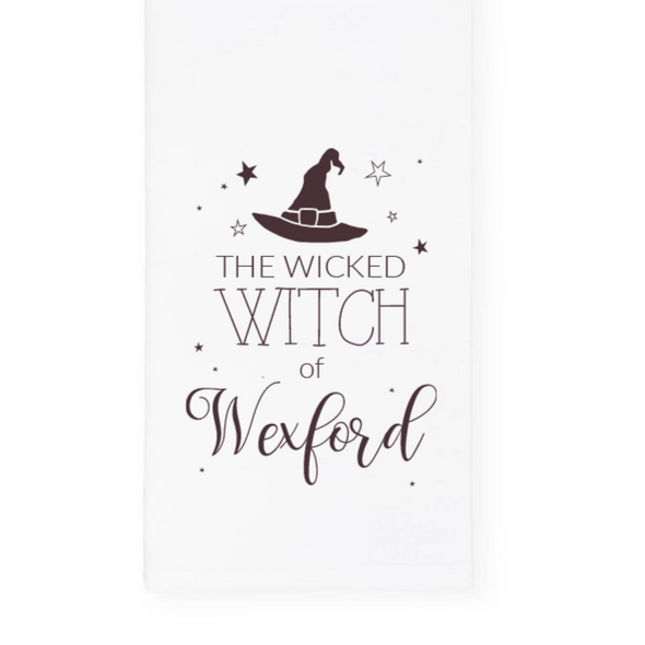 The Wicked Witch of Wexford, Halloween Towel