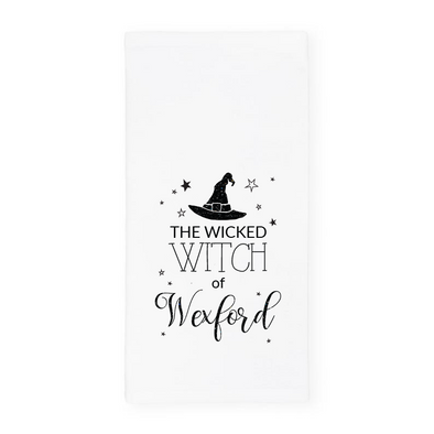 The Wicked Witch of Wexford, Glitter Halloween Towel, Wholesale