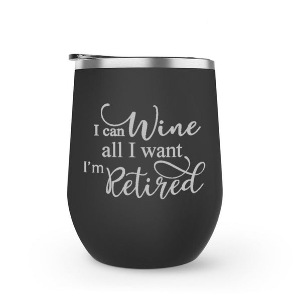 Wine Retired Wine Tumbler
