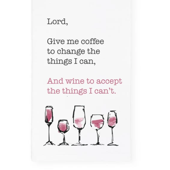 Lord Give Me Wine Towel, Wholesale
