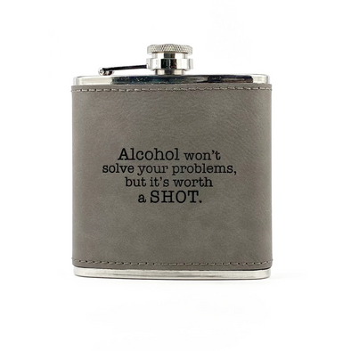 Worth a Shot Flask, Wholesale