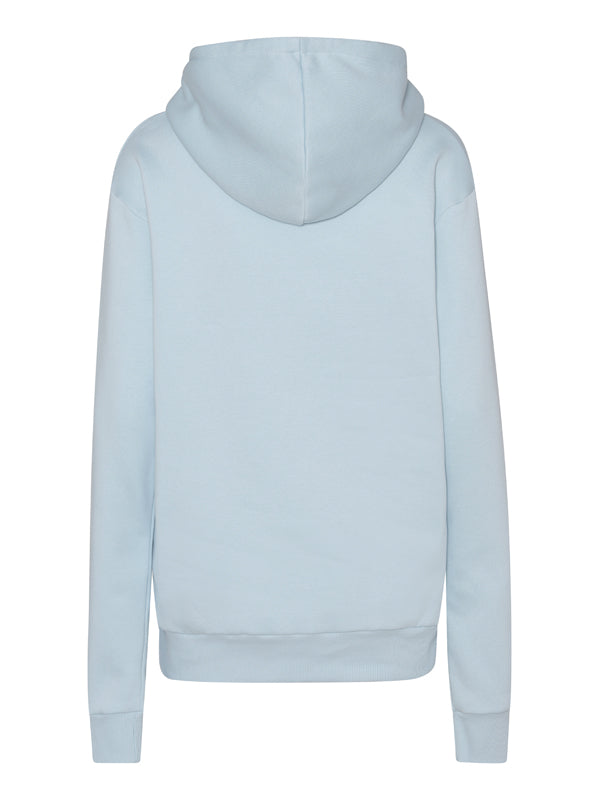 ABBY Hoodie logo pocket Light Blue