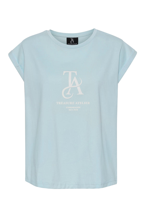 BELLA Tee - Light blue