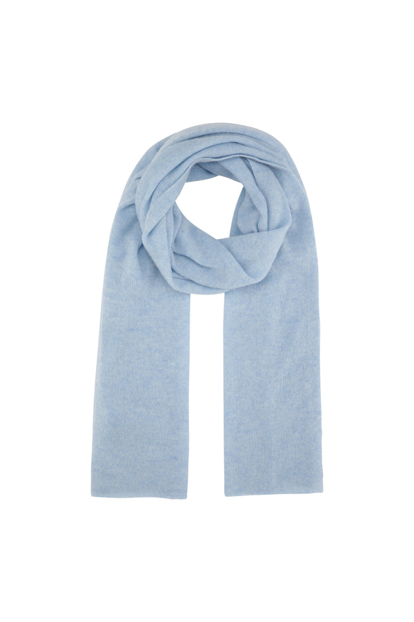 Palma scarf - Light blue melange