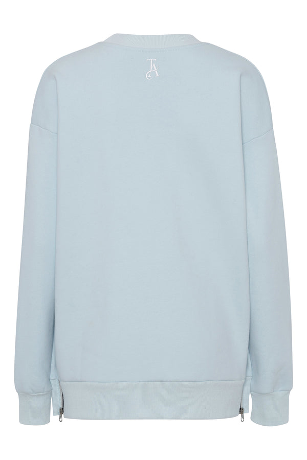 VENUS Crew Zip (light blue)