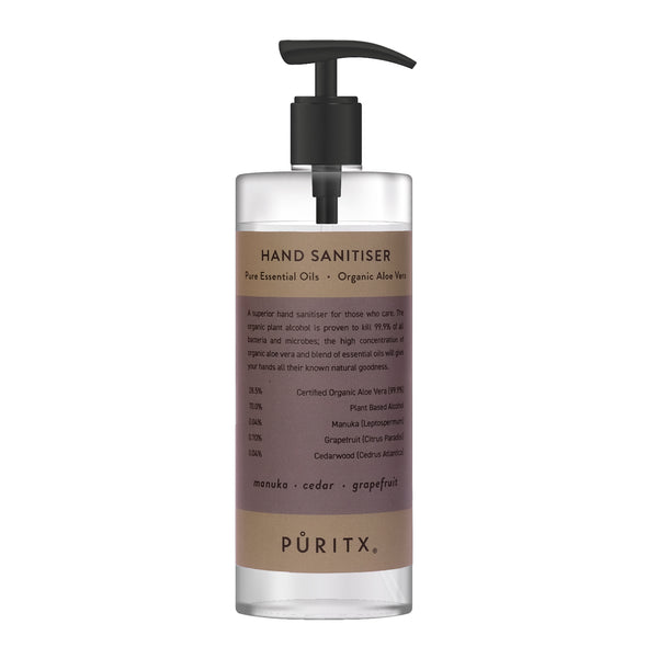 Hand Sanitiser 250 ML - Manuka . Cedar . Grapefruit