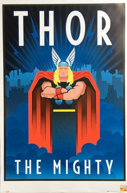 The Mighty Thor - Art Decor