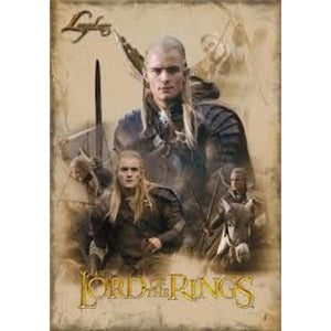 Lord of the Rings - Legolas Collage