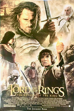 Lord of the Rings - Return Of The King One Sheet - The Journey Ends