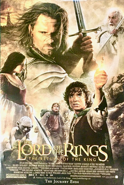 Lord of the Rings Return Of The King - One Sheet