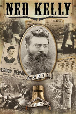 Ned Kelly - Collage