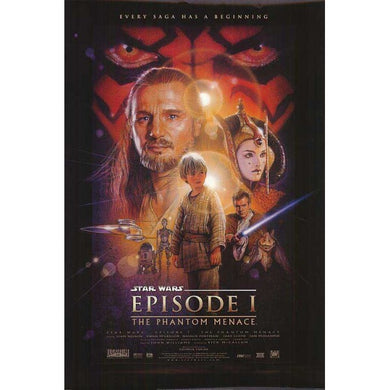 Star Wars Episode 1 - The Phantom Menace One Sheet