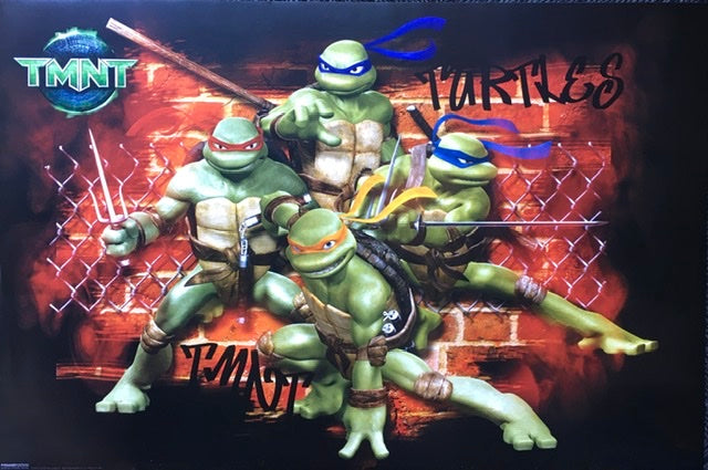 Teenage Mutant Ninja Turtle - Red Wall