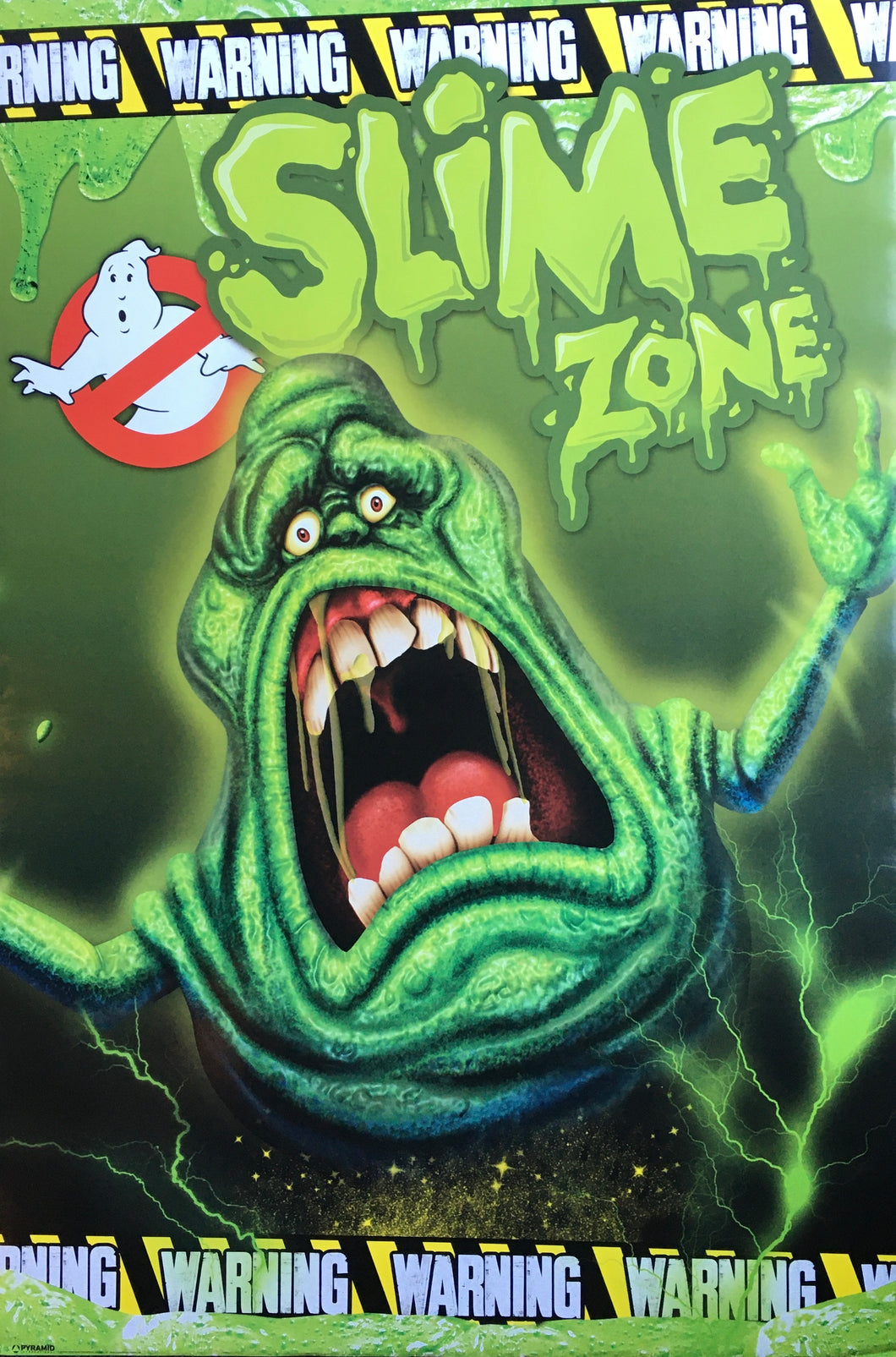 Ghostbusters - Warning Slime Zone