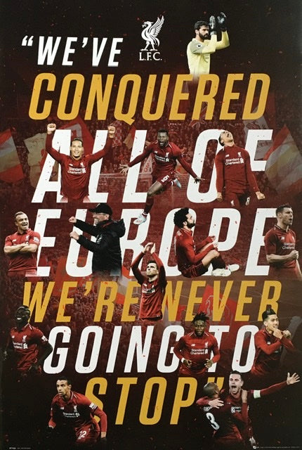 Liverpool - Never going to stop