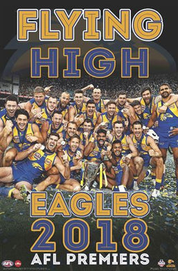 AFL - West Coast Eagles - Premiers 2018