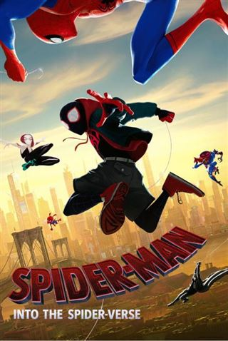 Spiderman Into The Spiderverse - Sunrise