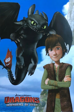 How To Train Your Dragon - Dragons Defenders Of Berk