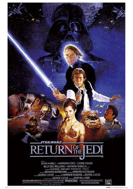 Star Wars - Return Of The Jedi One Sheet