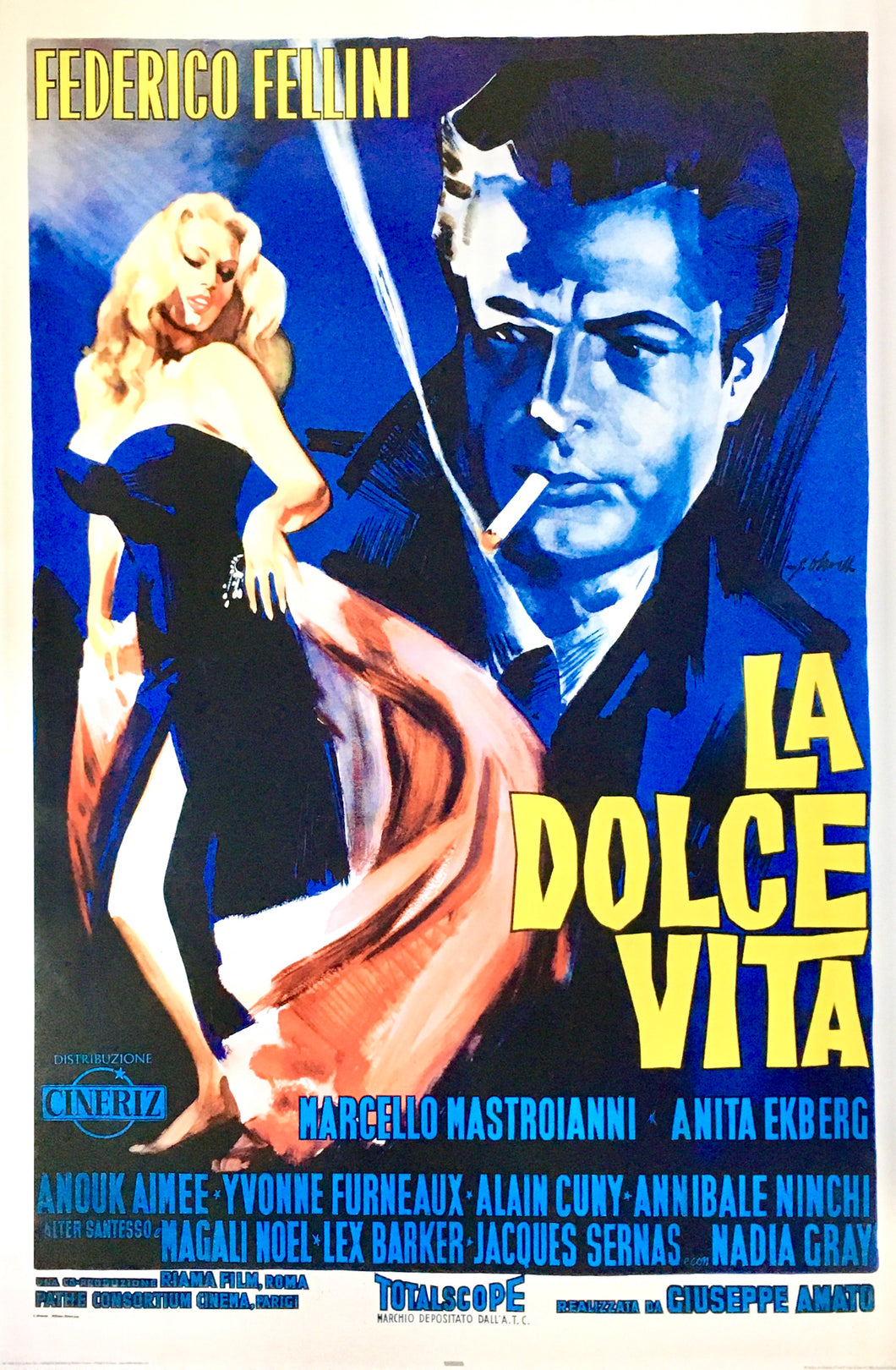 La Dolce Vita - One Sheet