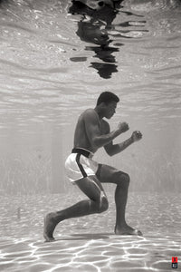 Muhammad Ali - Underwater Training